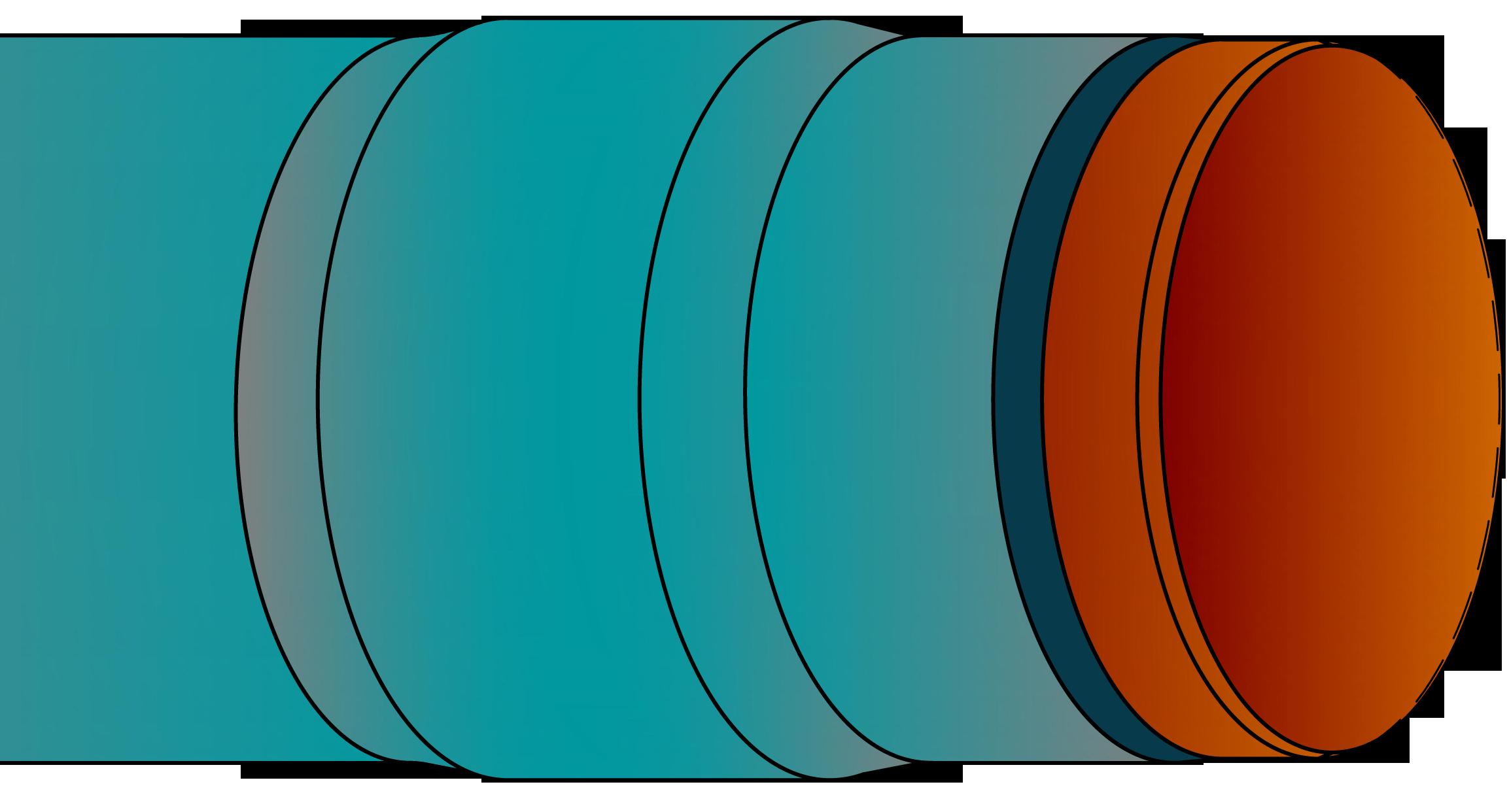 Aufbau GFK-Rohrummantelung