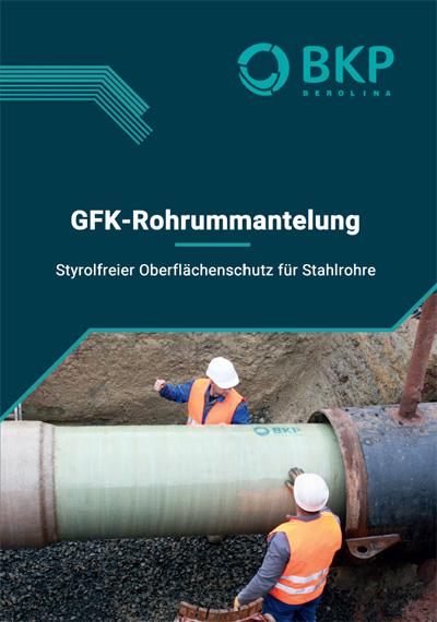 GFK-Rohrummantelung Broschüre BKP Berolina