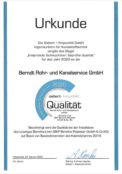 Siebert Knippschild Berndt Externe Zertifikate